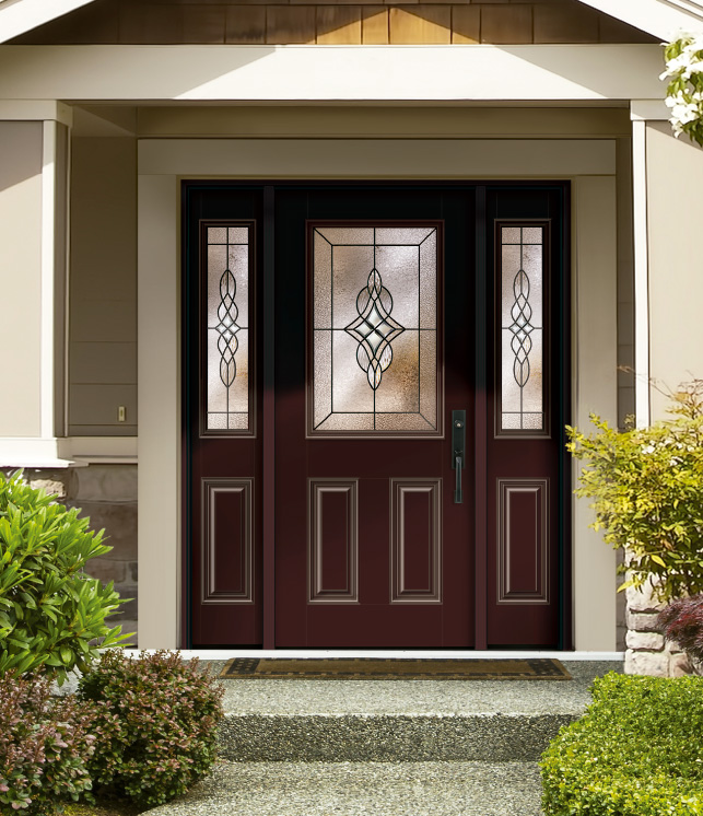 Finite Decorative Glass Collections Entry Doors Vinylguard