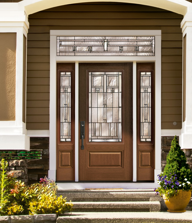 Imperial & Imperial | Decorative Glass Collections | Entry Doors - Vinylguard