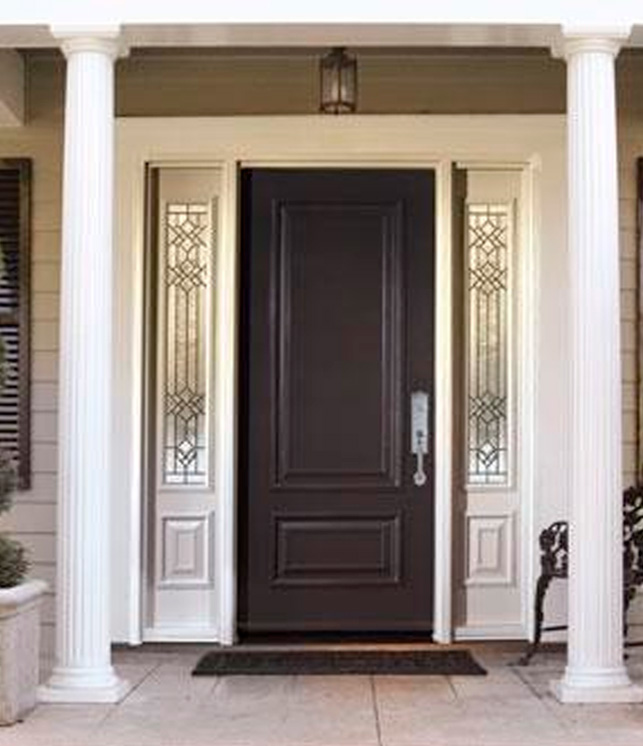 Add a new dimension to your steal door. The Executive Panels add charm and character while meeting the modern criteria of insulation and low maintenance. & Executive Door Collection   Entry Doors - Vinylguard