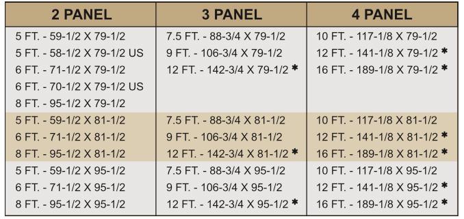 Sliding Patio Doors Sizes And Configuration Sliding Patio Doors