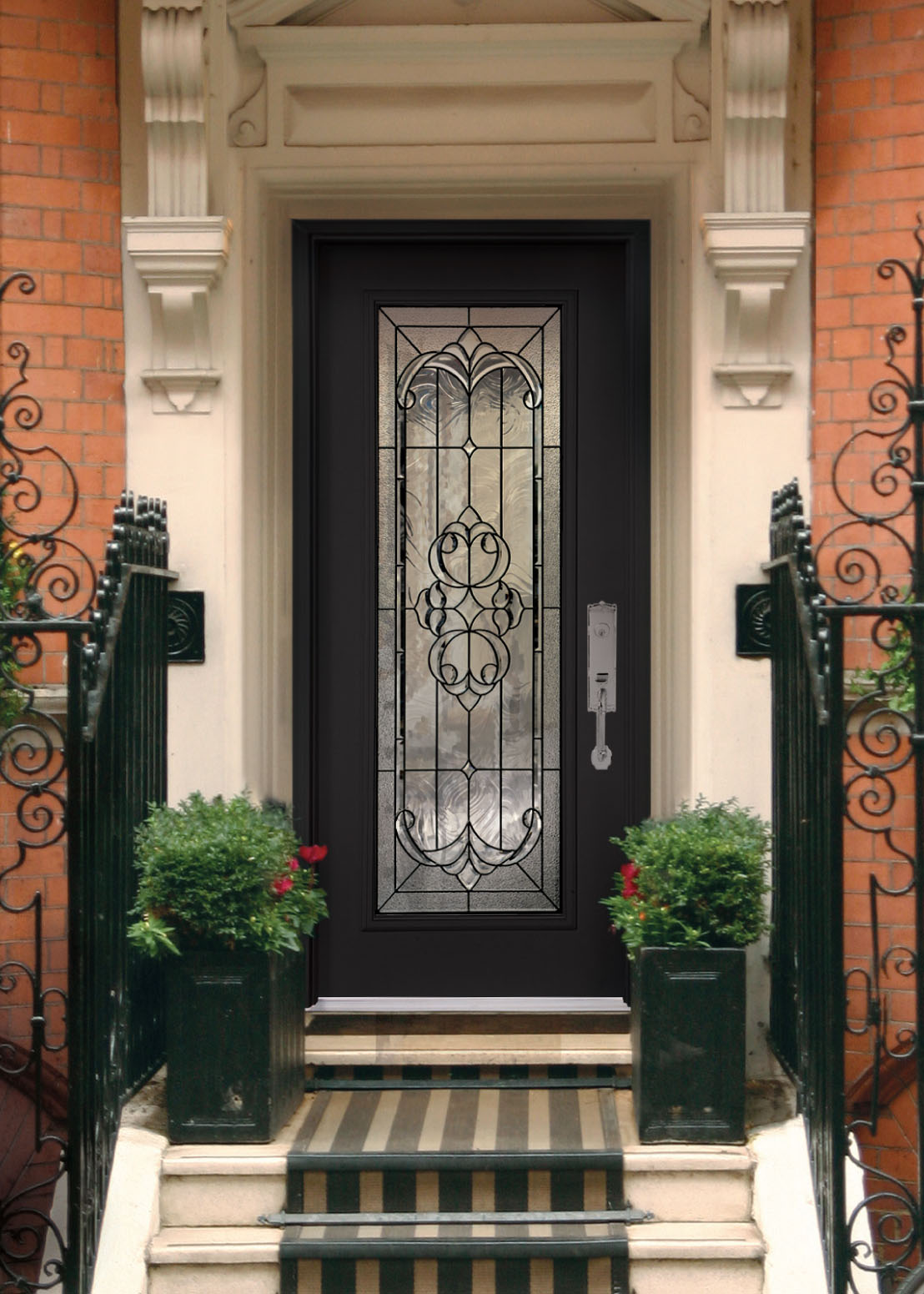 Metal Entry Doors. Door Steel Entry Custom Decorative Fairmont Glass Gallery  Vinylguard