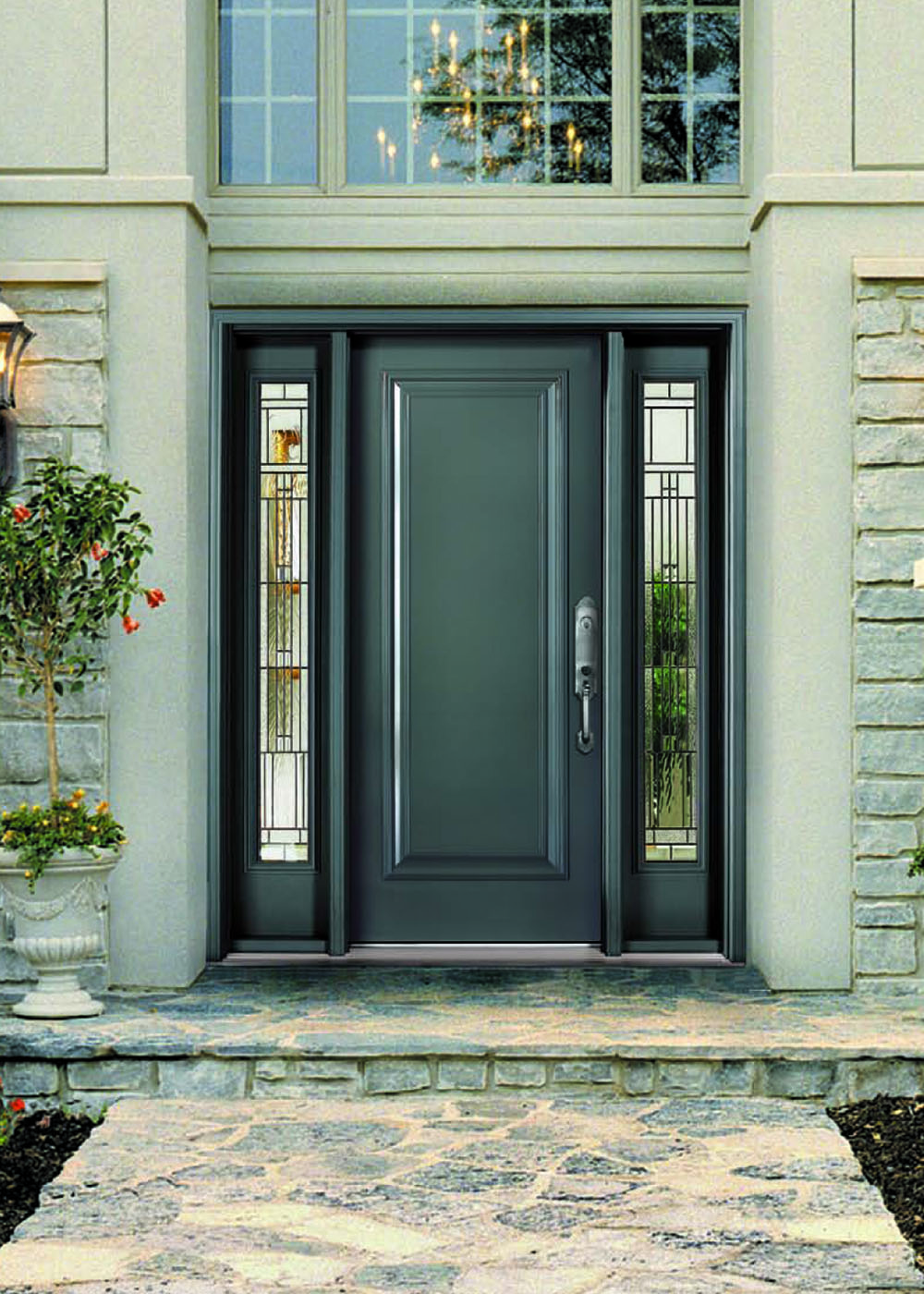 Gallery vinylguard for Metal entry doors