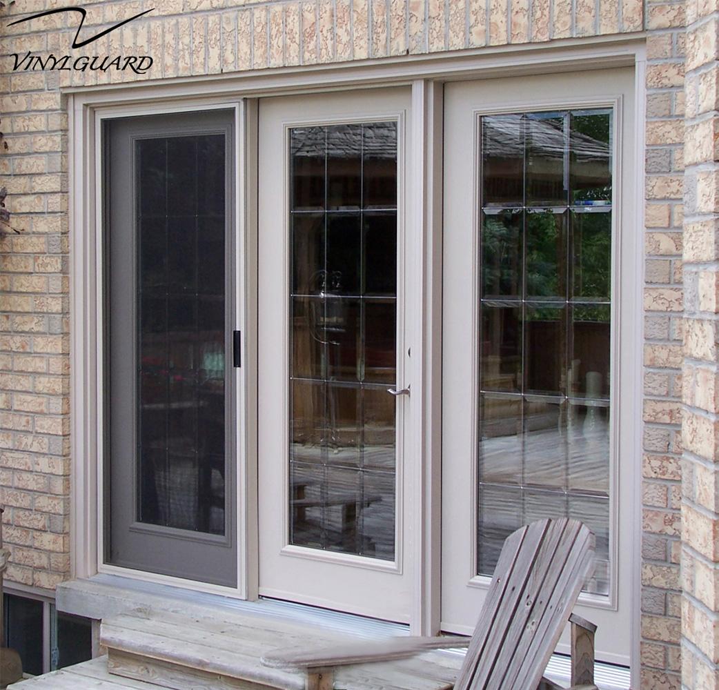 Gallery vinylguard for Sliding glass doors garden